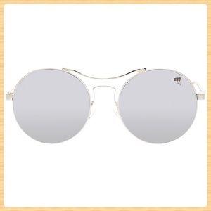 New Melt Round Lasercut Sunglasses